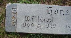 """W. T. """"Trap"""" Hanes"""