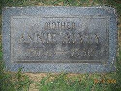 Annie Elizabeth <I>Moore</I> Alvey