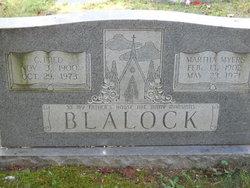 Martha <I>Myers</I> Blalock