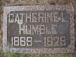 Catherine L <I>Kennedy</I> Humble