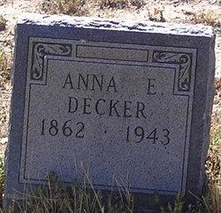 Anna E Decker
