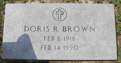 Doris R <I>Thurman</I> Brown
