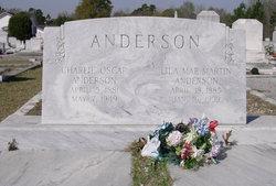 Lila Mae <I>Martin</I> Anderson