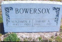Sarah A. <I>Studebaker</I> Bowersox
