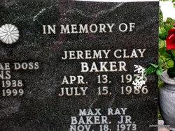 Jeremy Clay Baker