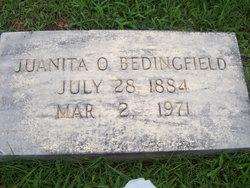 Juanita <I>Oliver</I> Bedingfield