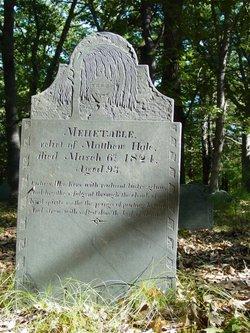 Mehetable <I>Short</I> Hale