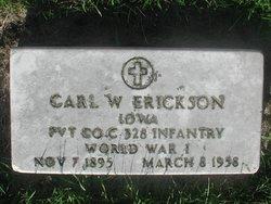 Carl Wilhelm Erickson