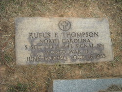 Rufus Everett Thompson