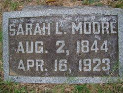 Sarah Louise <I>Manker</I> Moore