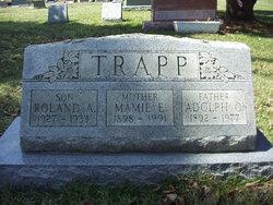 Mamie Emma Anna <I>Frank</I> Trapp
