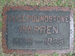 Allie <I>Blackwell</I> Warren