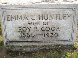 Emma Claire <I>Huntley</I> Cook