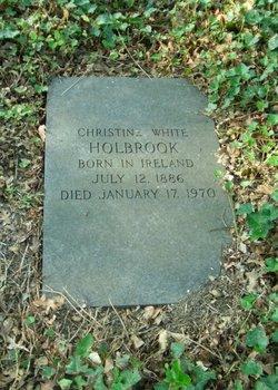 Christine <I>White</I> Holbrook