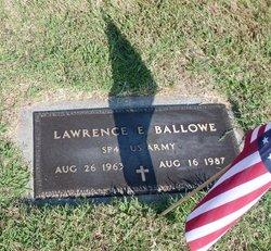 Lawrence E Ballowe