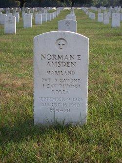 Norman E Amsden
