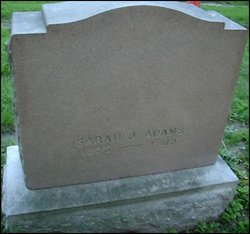 Sarah Jane <I>Winslow</I> Adams