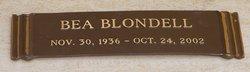 Bea Blondell