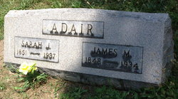 Sarah Jane <I>Barr</I> Adair