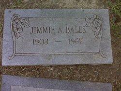 Jimmie A <I>Prewitt</I> Bales