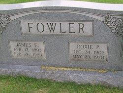 Roxie <I>Paulk</I> Fowler