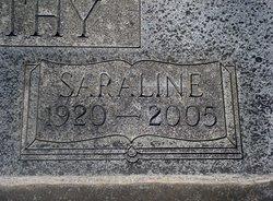 Saraline Elizabeth <I>Arnold</I> Abernethy