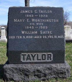 Mary E <I>Worthington</I> Taylor