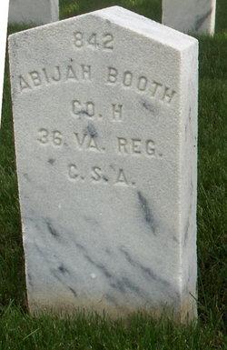 Pvt Abijah Booth