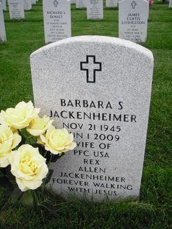 Barbara S  BJ Jackenheimer