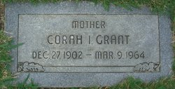 Corah Inez <I>Powell</I> Grant