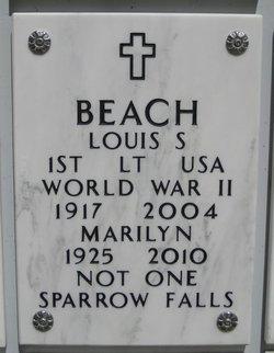 Marilyn J <I>Hughes</I> Beach