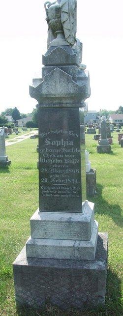 Sophia <I>Bartels</I> Busse