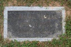 Caroline W. <I>Carter</I> Bell