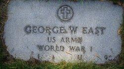George W East