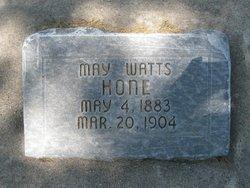 May Watts Hone