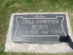 Anna <I>Sumsion</I> Bird