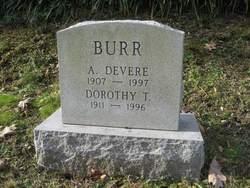 Dorothy Lida <I>Townsend</I> Burr