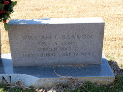 PFC William Lawrence Barron, Sr
