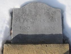 Rebecca <I>Presnell</I> Cole