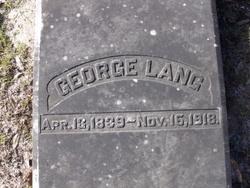 George Lang, Jr