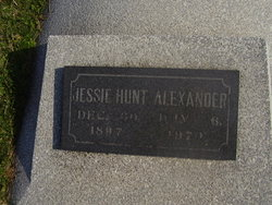 Jessie <I>Hunt</I> Alexander