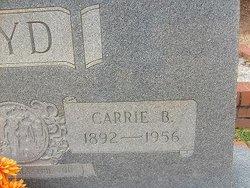 Carrie Beatrice <I>Smallwood</I> Boyd