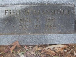Fred McCormick Bransford