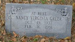 Nancy Virginia Greer