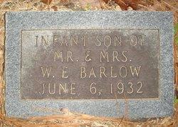 Infant Son Barlow