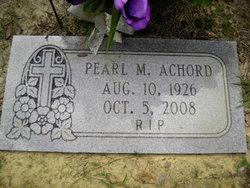 "Pearl ""Pearly"" <I>Martin</I> Achord"