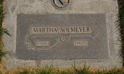 Martha <I>Miller</I> Solmeyer