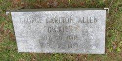 George Carlton Dickie Allen, Sr