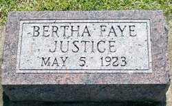 Bertha Faye Justice