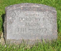 Dorothy F. Bacon
